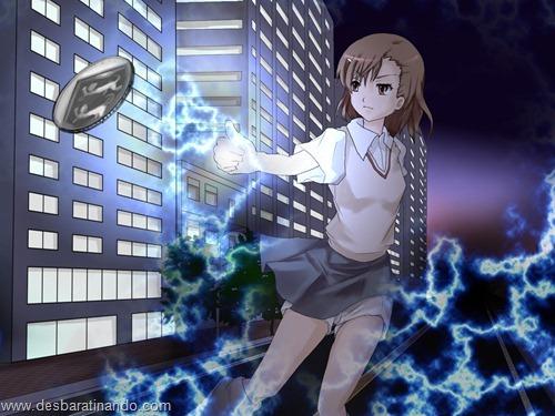 to aru kagaku wallpapers papeis de parede anime download desbaratinando (12)