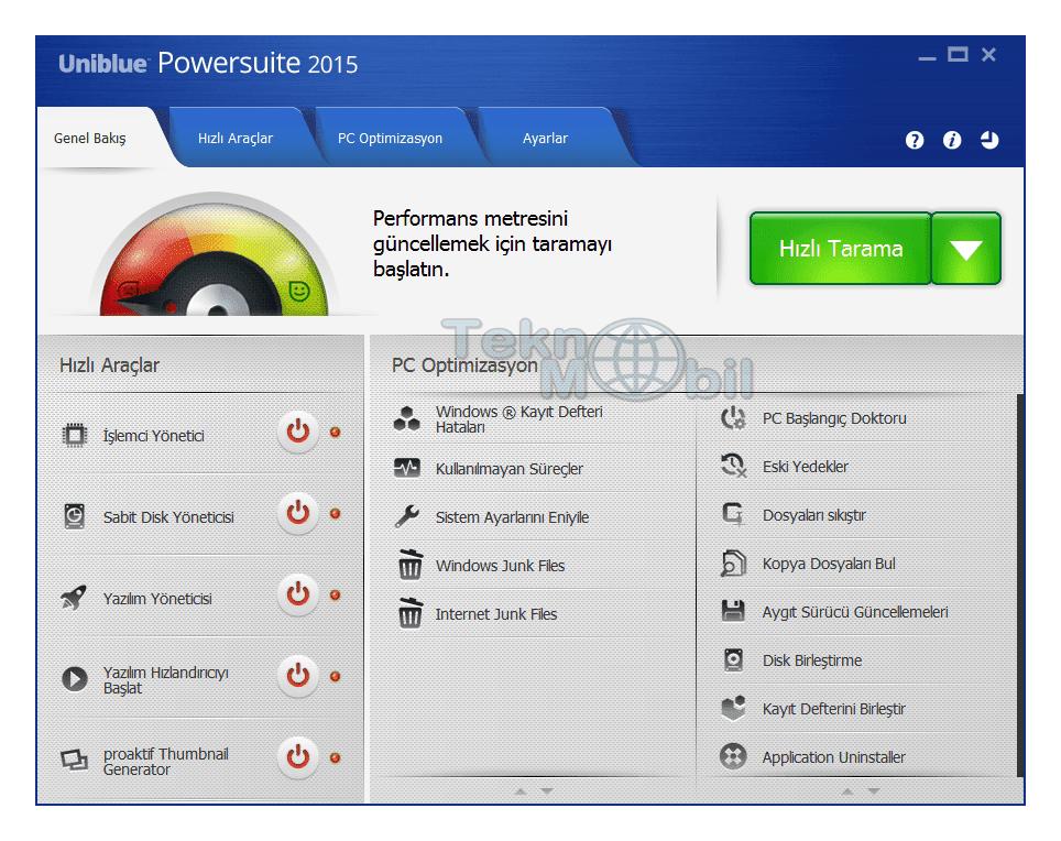 Uniblue PowerSuite Pro Full indir