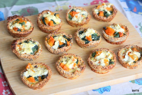 Pumpkin and Spinach Cups