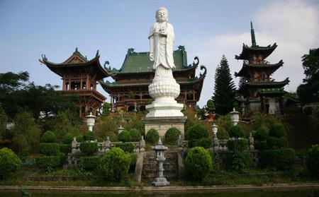 Chùa Minh Thành ở Pleiku