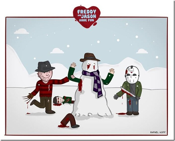 Freddy e Jason se divertindo (4)
