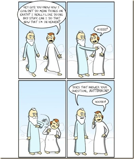 heaven paradise atheism god bible jesus humor (56)