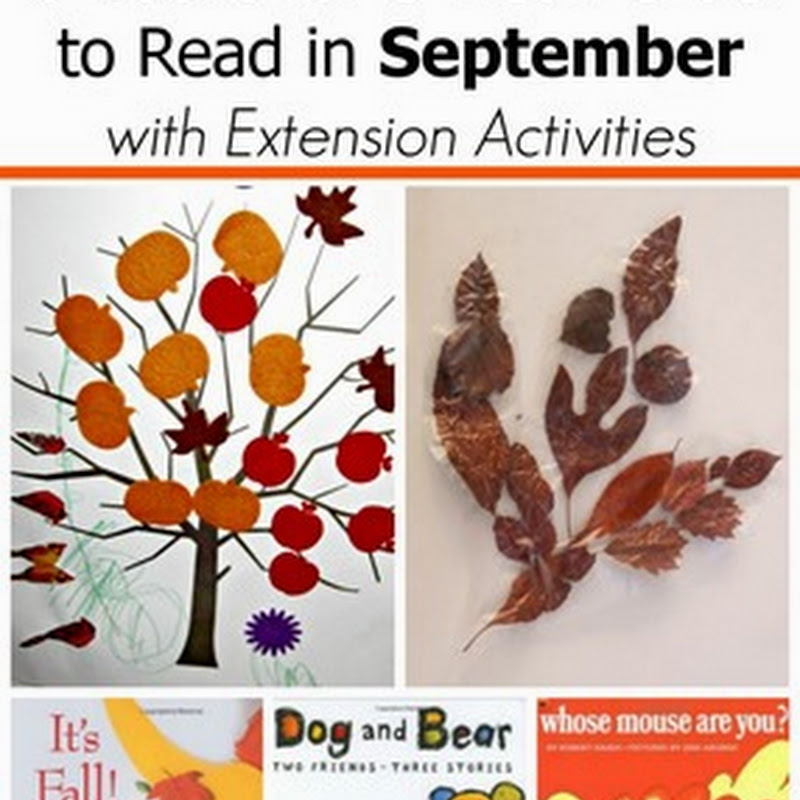 6 September Books for 2 and 3 Year Olds