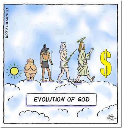 evolucion de dios