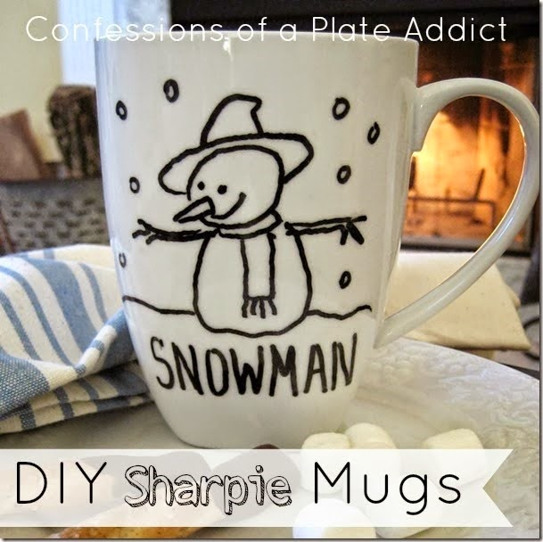 CONFESSIONS OF A PLATE ADDICT Creating a Cozy Home...DIY Sharpie Mugs