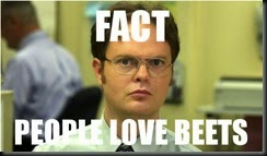 What Dwight says HAS to be true