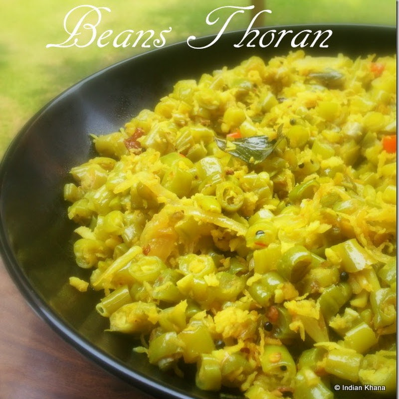 Beans Thoran | Poriyal | Onam Sadhya Recipes