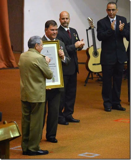 Diploma a Ramón