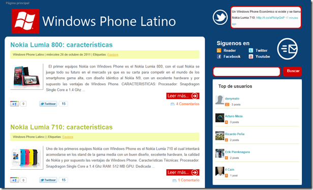 Windows Phone latino