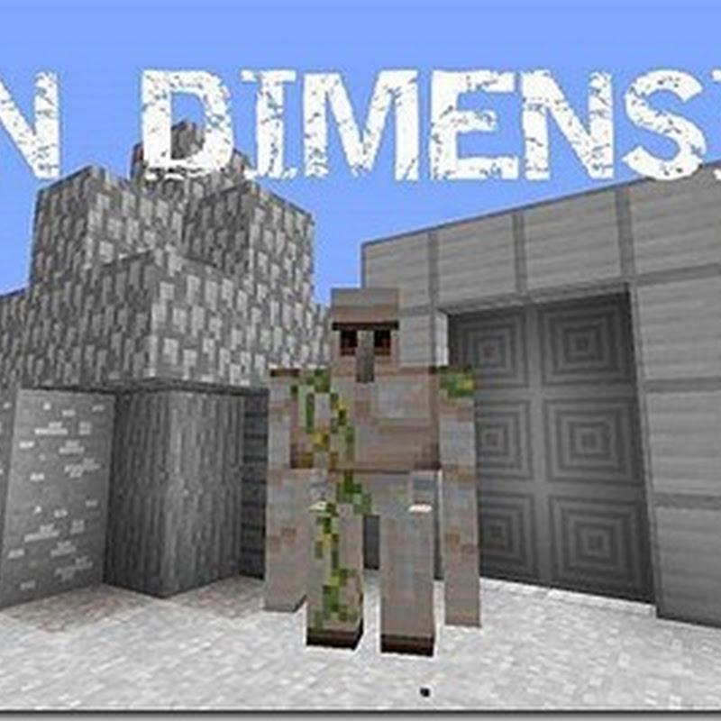 Minecraft 1.5.1 - The Iron Dimension Mod