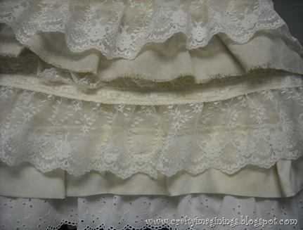 My DIY Petticoat Skirt-Layers