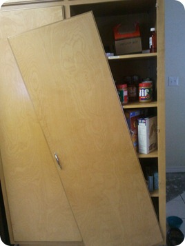 Broke pantry hinge
