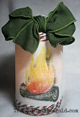 Upcycled-Yule-Log