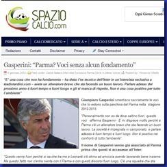 SPAZIO CALCIO COM GASPERINI