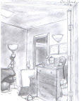 Perspective Drawing: My Bedroom