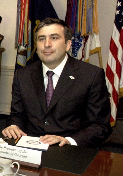CC Photo Google Image Search Source is upload wikimedia org  Subject is Mikheil Saakashvili August 4 2004