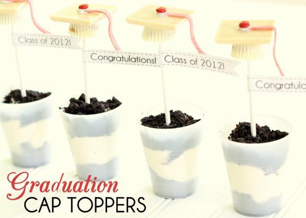 graduation cap toppers