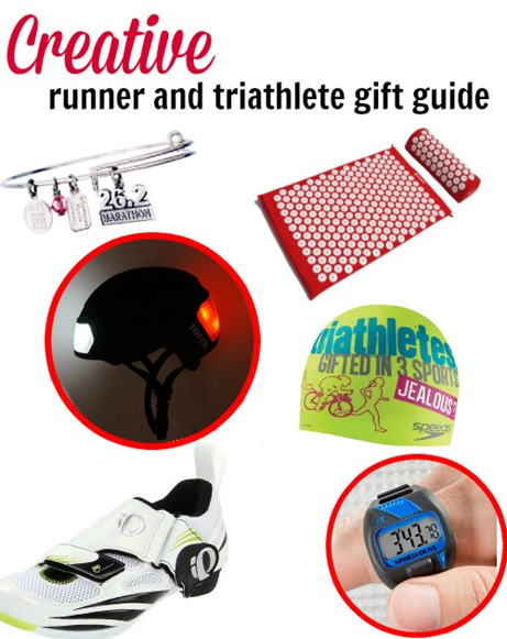 creative gifts for the runner and triathlete