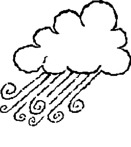 Coloring pages » WIND COLORING PAGES