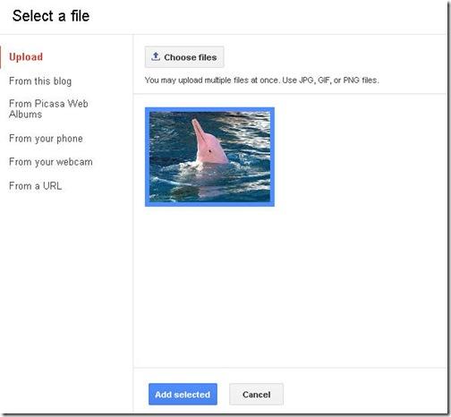 cara menyisipkan gambar ke posting blog
