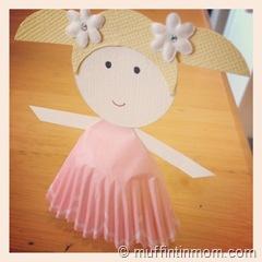 paper cupcake liner doll 02