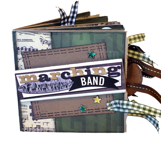 Marching Band Scrapbook 1
