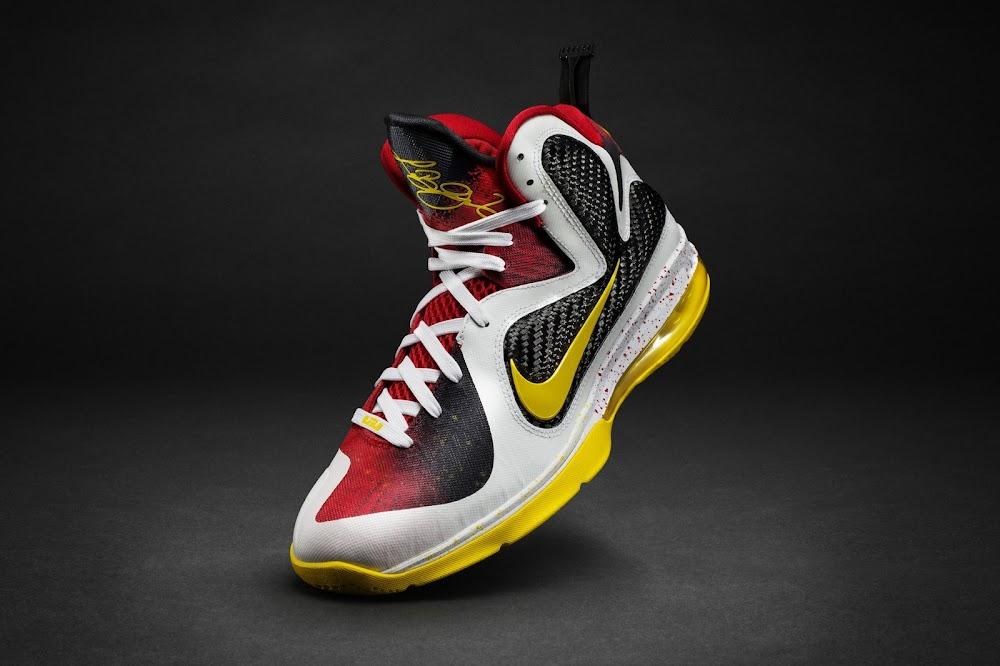 buy online 44dd2 9f437 ... Nike Unveils LeBron 9 Elite LeBron James Championship Pack ...