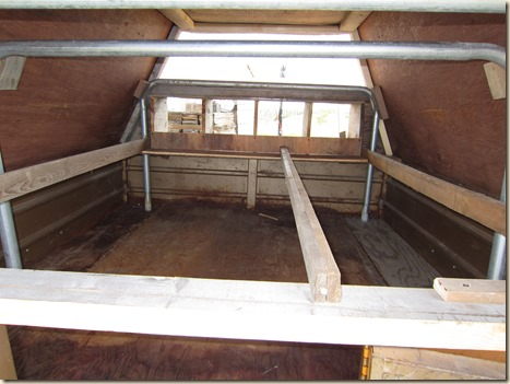 Chicken tractor and tung oil staining 045