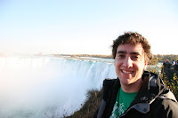 G-pants at the horseshoe falls