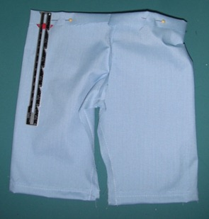 doll scrub pants step 11