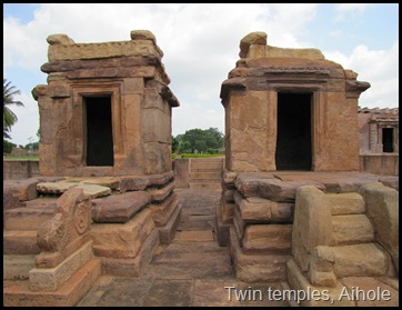 Twin temples, Aihole