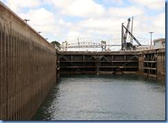 4967 Michigan - Sault Sainte Marie, MI -  St Marys River - Soo Locks Boat Tours - inside MacArthur Lock