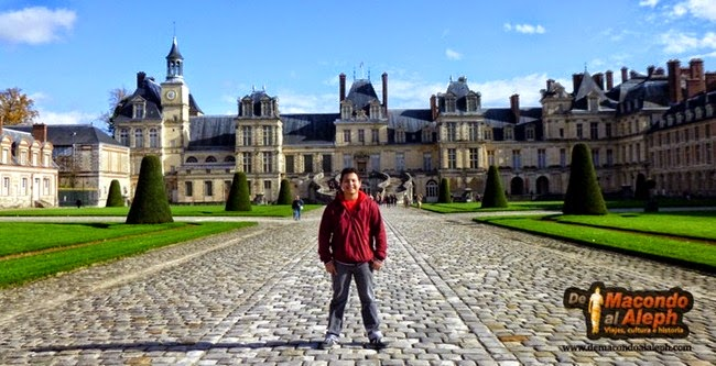 Visita Castillo de Fontainebleue 1