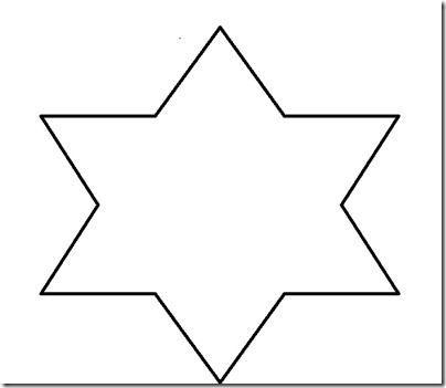 Plantillas de estrellas de navidad para imprimir imagui - Plantilla estrella navidad ...