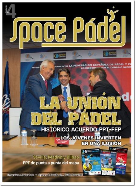Ya disponible el número 4 de la revista gratuita SPACE PÁDEL. Consíguela en tu club y en el PPT.