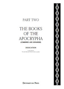 Cover of Reformed Druids's Book Anthology 02 Books Of The Apocrypha