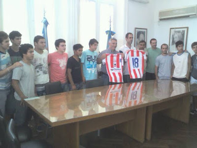 selección sub 17 camiseta liga deportiva chacabuco 2013