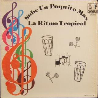 La Ritmo Tropical  Sube Un Poquito Mas  LP Front