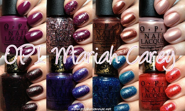 Mariah Carey by OPI ♥ Swatches and Review Part Two