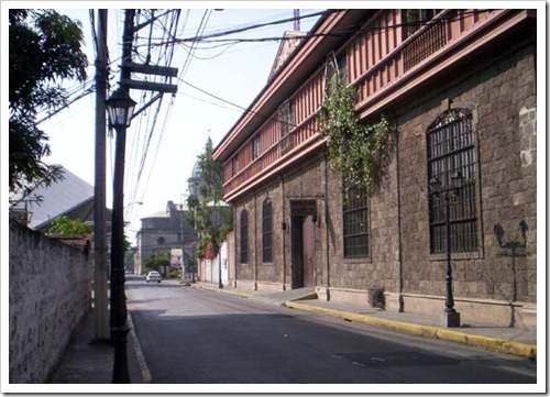 Calle Real del Palacio (now General Luna)