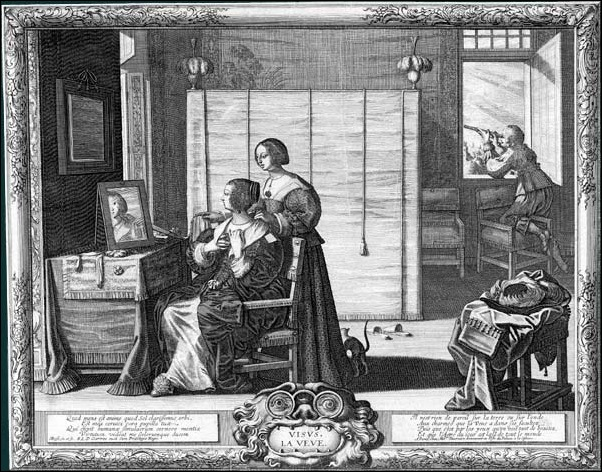 Bosse Abraham - la-vue - 1638
