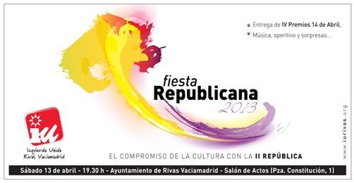 Fiesta Republicana 2013 en Rivas