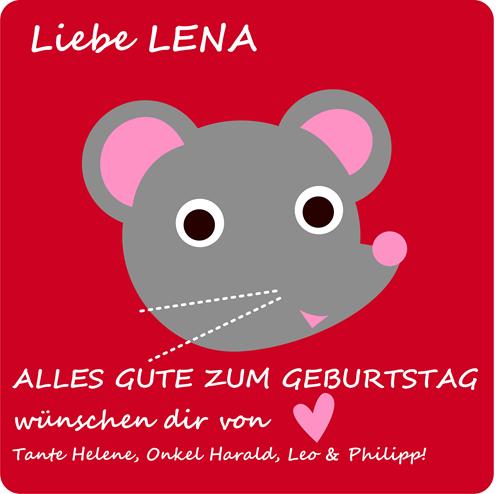 GeburtstagskarteLena