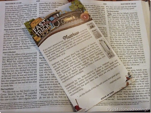 Fast Track Bible Pack 1