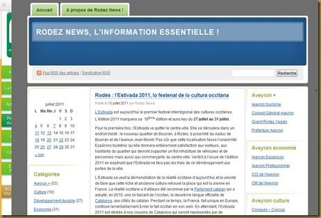 L'Estivada Rodez News