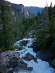 Waterfalls, Yosemite Valley, CA, USA