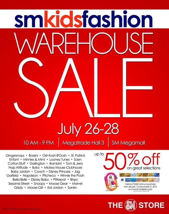 EDnything_SM Kids Fashion Warehouse Sale