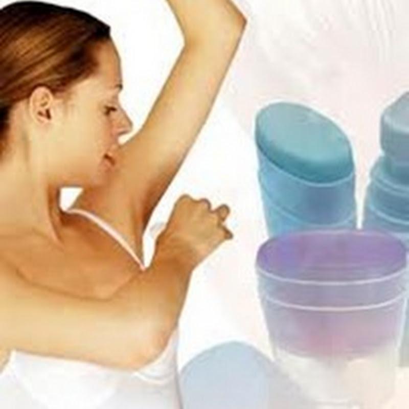 Folosesti deodorant sau  antiperspirant