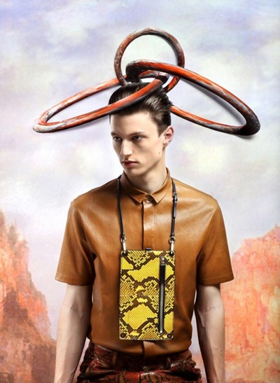 Ph by Frederik Heyman for Vogue Hommes Japan S/S 2012 (Vol 8).  Styled by Lotta Volkova Adam.