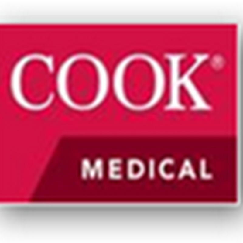Cook Medical Gets FDA Approval for Zilver PTX Drug Eluting Stent for the Treatment of Peripheral Arterial Disease (PAD)